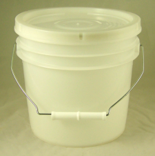 Natural Pail with lid - 5 litres