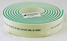 "HR3 Medium 2"" x 3/8"" x 90"" Triple White/Green/White"