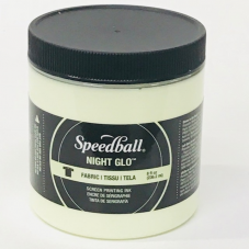 Speedball Fabric Night Glo
