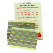 Thermolabels #5 290 - 330 F Package of 16
