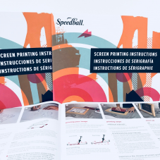 Speedball Screen Printing Instructional Book