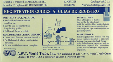 Paper Feed Guides - Package of 12