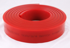 "2 "" x 3/8"" 65-70 Durometer Red PU9550034"